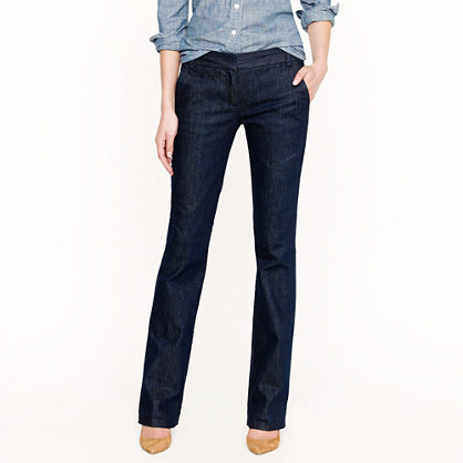 Trouser jean in classic rinse wash