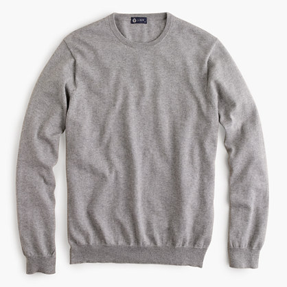 Cotton-cashmere crewneck sweater