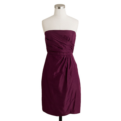 Selma dress in silk taffeta
