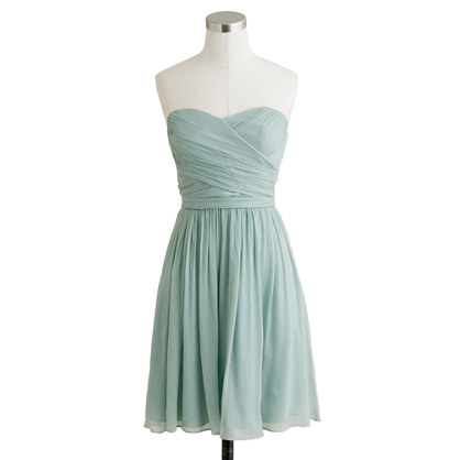 Arabelle dress in silk chiffon