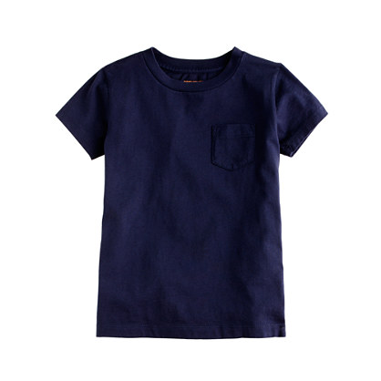 Boys' jersey pocket tee