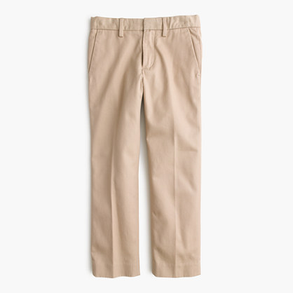 Boys' Bowery slim in cotton twill