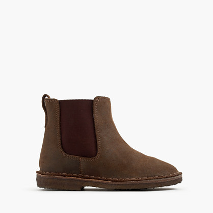Kids Oiled suede Chelsea Boots Shoes JCrew