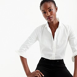 Three-quarter sleeve stretch perfect shirt