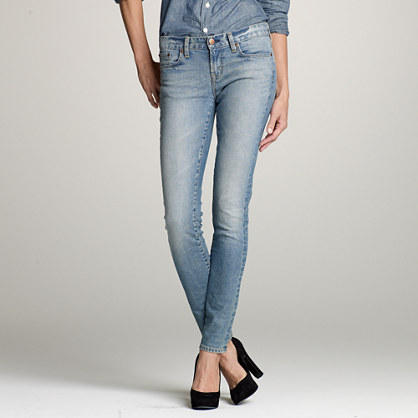 Toothpick jean in bliss wash