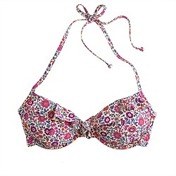 Liberty underwire top in D'Anjo floral