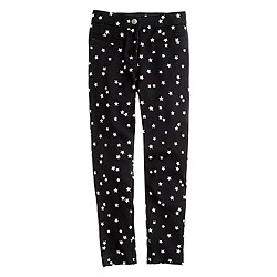 Girls' Pixie pant in star print