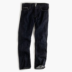484 selvedge jean in resin crinkle wash