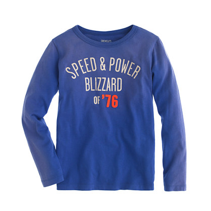 Boys' long-sleeve snowball champions tee