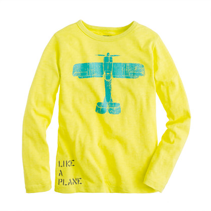 Boys' long-sleeve like a Bird tee