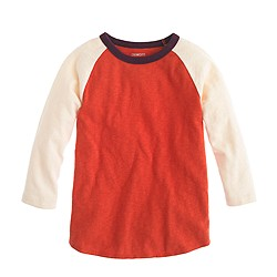 Boys' heavyweight baseball tee
