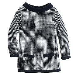 Girls' bateau sweater