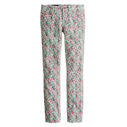 Liberty toothpick jean in Emma and Georgina floral