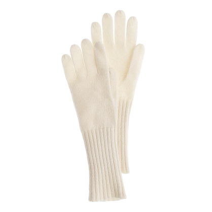 Wool-angora gloves