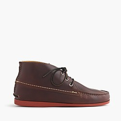 Men's Quoddy® for J.Crew leather chukka boots