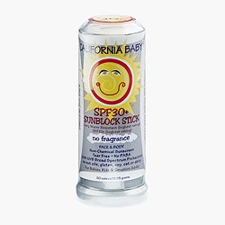 Kids' California Baby® sunblock stick