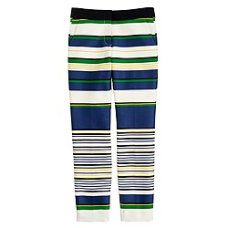 Bennett cropped chino in multistripe
