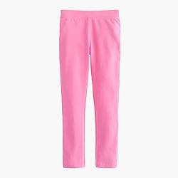 Girls' solid everyday leggings
