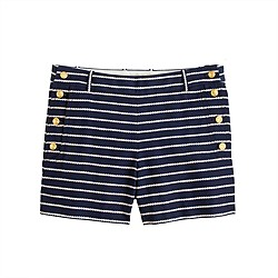 Rope stripe sailor short