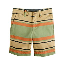 Boys' Stanton short in stripe