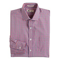 Thomas Mason® for J.Crew Ludlow shirt in bold poppy