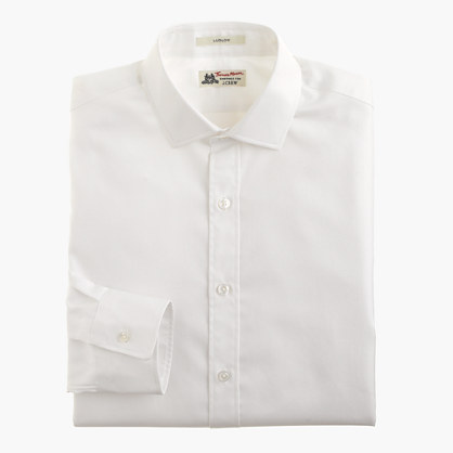 Thomas Mason® for J.Crew Ludlow shirt in Royal oxford