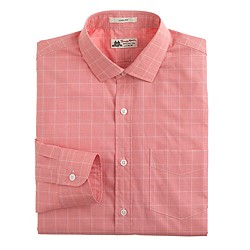Thomas Mason® for J.Crew Ludlow shirt in calypso orange