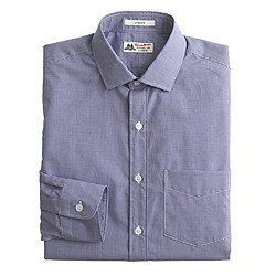 Thomas Mason® for J.Crew Ludlow shirt in baltic microgingham