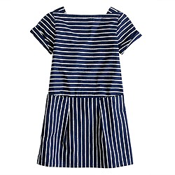 Girls' rope stripe dress