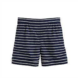 Girls' rope stripe short