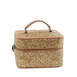 Girls' glitter mini overnighter
