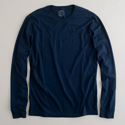 Slim broken-in long-sleeve tee