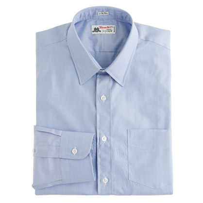 Thomas Mason® for J.Crew point-collar end-on-end shirt