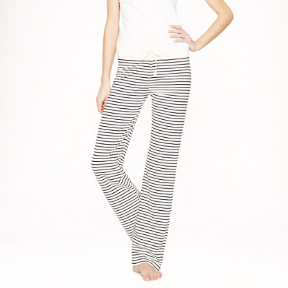 Tall dreamy cotton pant in stripe