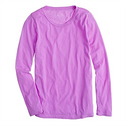 Tissue long-sleeve tee