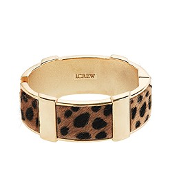 Wild side wide bangle