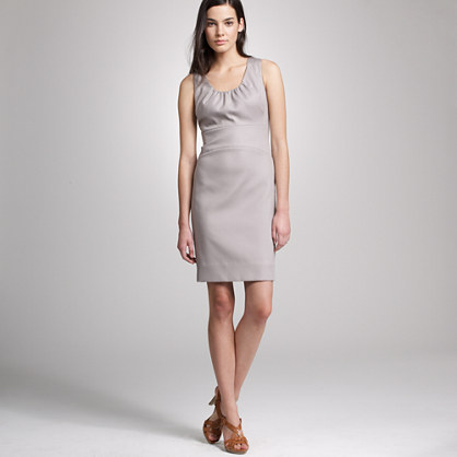 Allura shift dress in superfine cotton