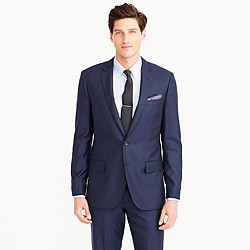 Ludlow suit jacket with double vent in Italian cashmere