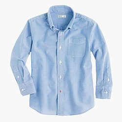 Boys' pinpoint oxford shirt