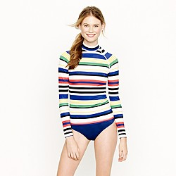 Multistripe rash guard