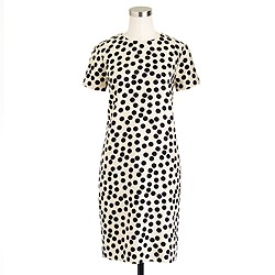 Scattered dot shift dress