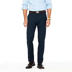 Ludlow classic suit pant in Italian cotton piqué