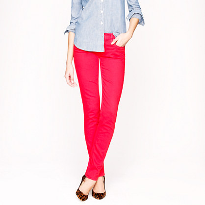 Matchstick jean in garment-dyed denim