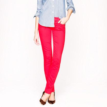 Matchstick jean in garment-dyed denim