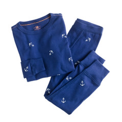 Boys' sleep set in anchor