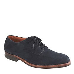 Limited-edition navy Alden® double leather sole oxfords