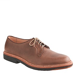 Limited-edition Alden® plain-toe leather bluchers
