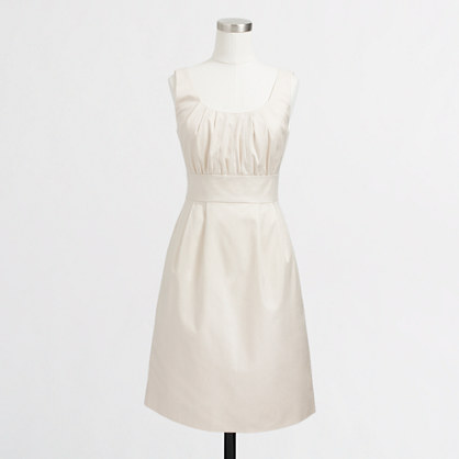 Factory cotton shift dress
