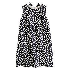 Girls' scatter-dot dress