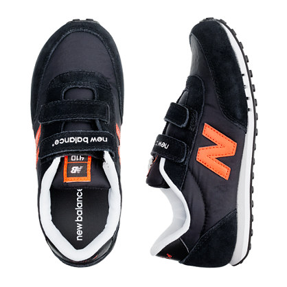 Kids' New Balance® black KE410 sneakers